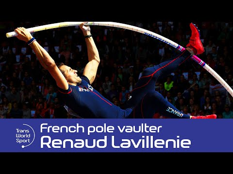 World Record holder Renaud Lavillenie on Trans World Sport