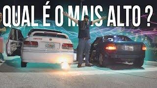BATALHA DE RONCOS DE CARROS NOS EUA !!! (Lamborghini, Camaro, Mustang, Audi R8) ‹ Nino Leone ›