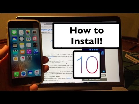 How to Install iOS 10 on iPhone. iPad. or iPod Touch!