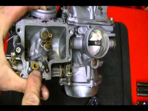 How to Disassemble a Motorcycle CV Constant Velocity Carburetor