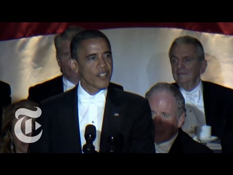 Obama Jokes at the Al Smith Dinner - Elections 2012