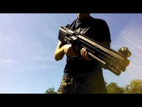 Test Shooting UTAS UTS-15 --- 12 Gauge bullpup shotgun - 15rnd capacity - latest U.S. version