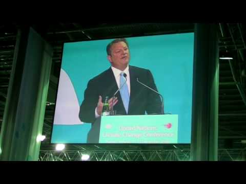 Al Gore's Passionate Plea to the climate negotiators in Poznan, Poland