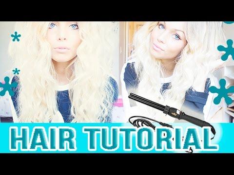 Hair tutorial - Mermaid hair/ Rapunzel of Sweden