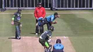 Scotland v Pakistan: 1st ODI - Pakistan Innings