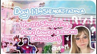 THRIFT SHOPPING IN JAPAN!!♪ ♡   Day 11 - Shimokitazawa & Mori Tower!   Abipop in Japan 3 - 2017 ♡