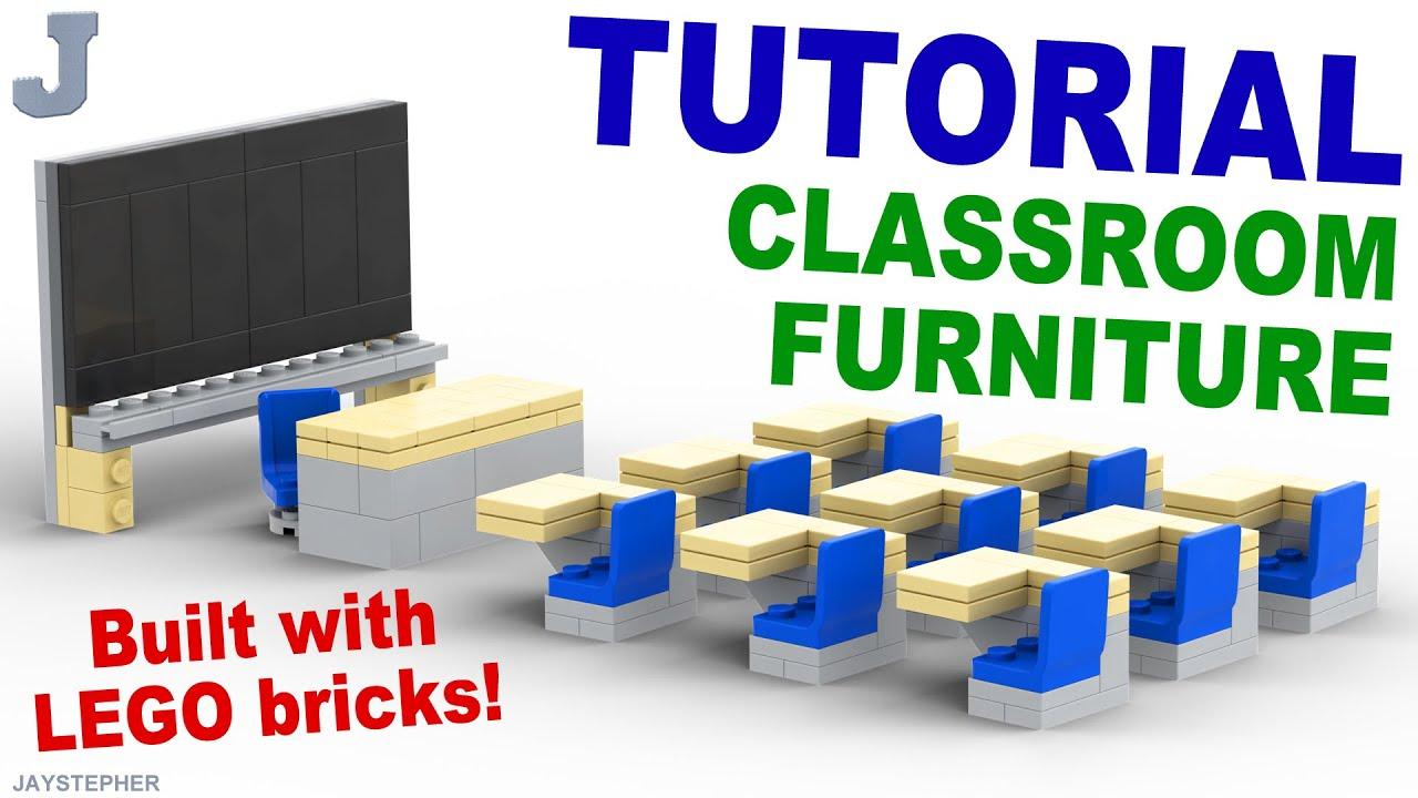 Tutorial Lego Classroom Furniture Cc Youtube