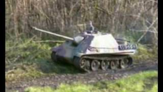 1:6 Scale Jagdpanther on the move