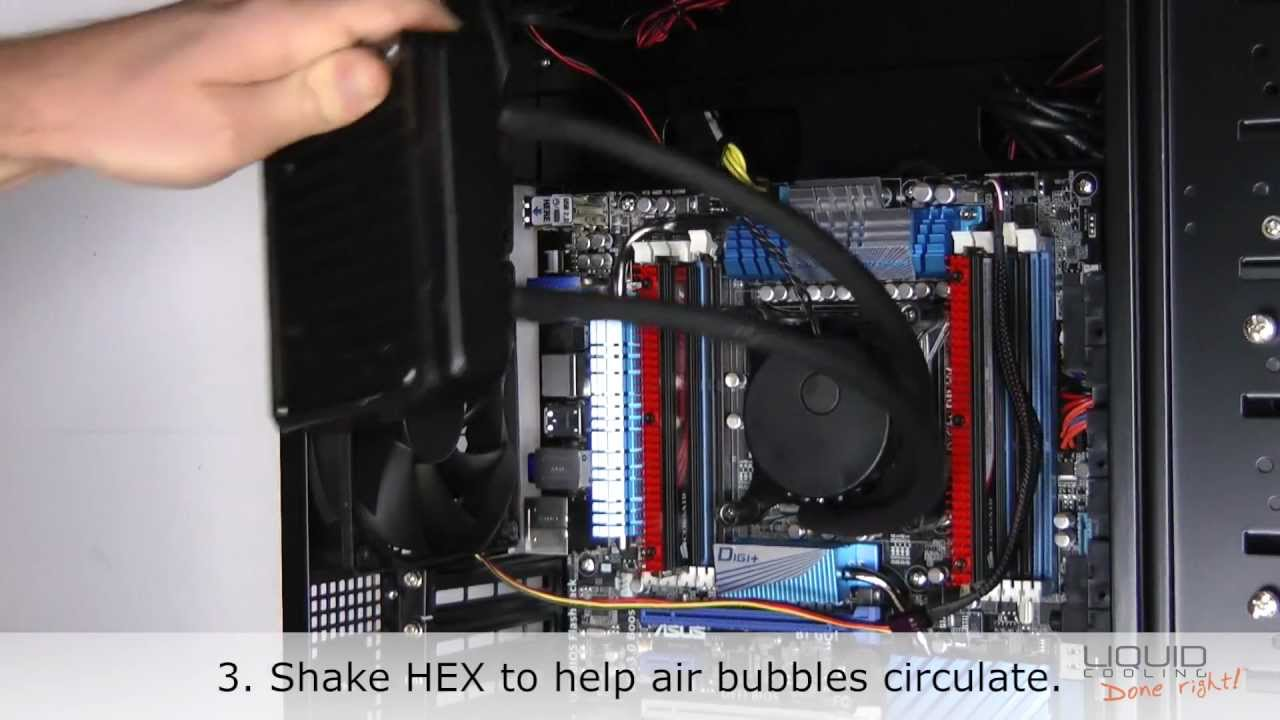 How To Quiet A Noisy Asetek Liquid Cooling Pump Youtube