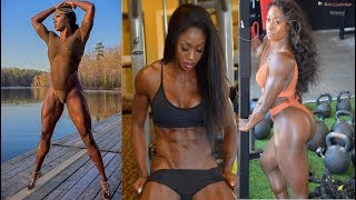 Renée Jones - IFBB PRO / Awesome Workout & All Exercises