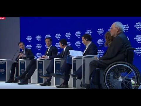 """LIVE: WEF 2016 - """"The Future of Europe"""" Plenary Session in Davos"""