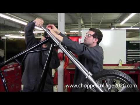 Motorcycle Riser and Handlebar Installation