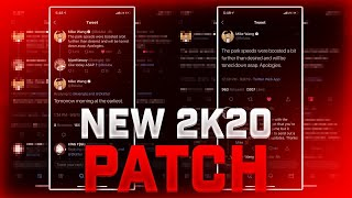 NBA 2K20 NEW PATCH IS COMING FIXING 2K20 REP BARS GLITCHED BADGE BARS GLITCHED 2K20 ERROR SCREENS!