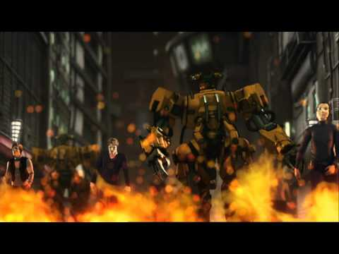 Aninite 2012 - Appleseed Exmachina Amv -  Mt. Eden Dubstep Escape (craig Armstrong Remix) video