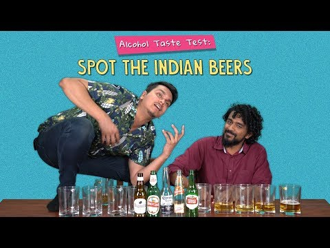 Alcohol Taste Test: Spot The Indian Beers | Ok Tested