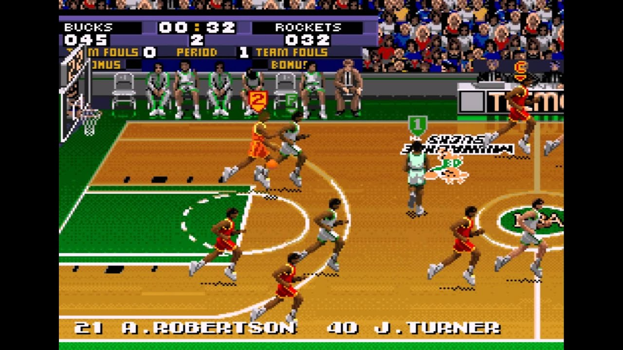 Tecmo Super NBA Basketball (SNES) - Vizzed.com GamePlay ...