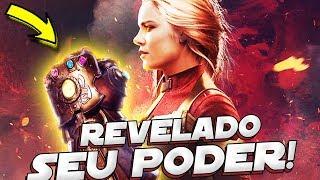 REVELADO O VERDADEIRO PODER DA CAPITÃ MARVEL EM VINGADORES 4 ????????