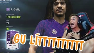 Mixigaming Mở Gói Thẻ Mới Của Fifa Online 4 Cực May Mắn Ra Hẳn R.Gullit - Mixigaming FO4