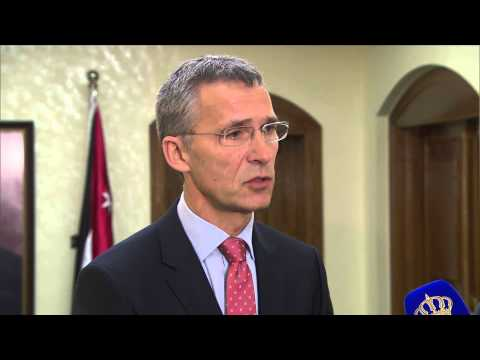 NATO Secretary General and Minister of Foreign Affairs of Jordan - Joint Press Point - 09 DEC 2014