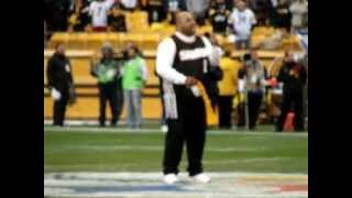 Fiji singing the National Anthem at Heinz Field 10/28/12 Steelers vs Redskins game