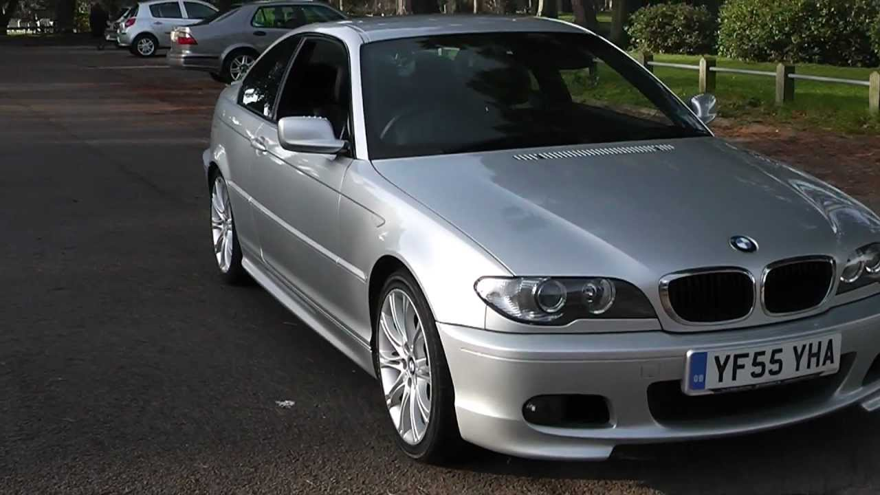 bmw 318ci m sport coupe full leather 57 000 miles 7 950 youtube. Black Bedroom Furniture Sets. Home Design Ideas