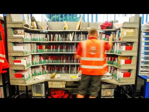 Royal Mail Time-lapse