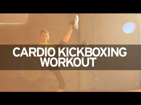 Cardio Kickboxing Workout Image 1