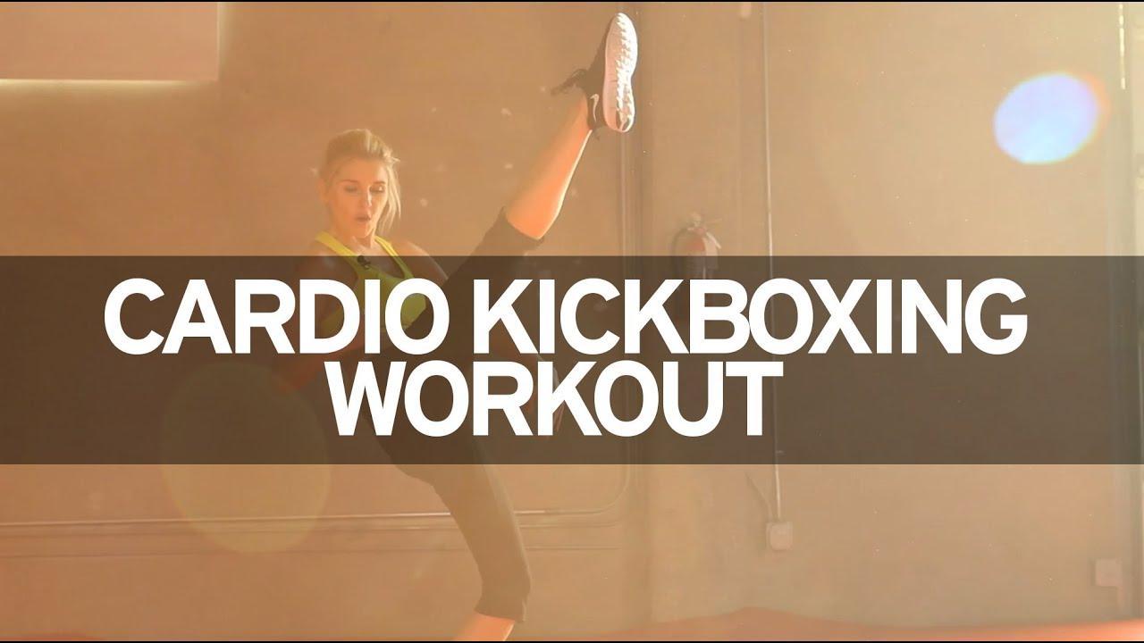 Cardio Kickboxing Workout - YouTube