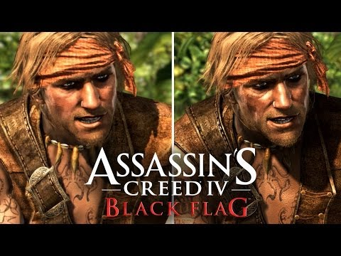 Assassin's Creed 4: Graphics Comparison (PS4. PS3. Xbox 360. Wii U)