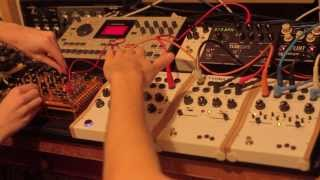 KOMA Elektronik RH301 in the Studio - Controlling Synths, Drum Machines & Effects