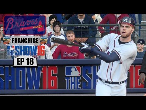 MLB The Show 16 (PS4) Atlanta Braves Franchise EP18