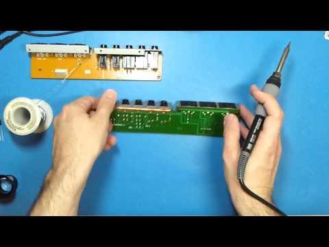 Yamaha DX7 Repair Blown Capacitor