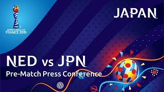 NED v. JPN - Japan Pre-Match Press Conference