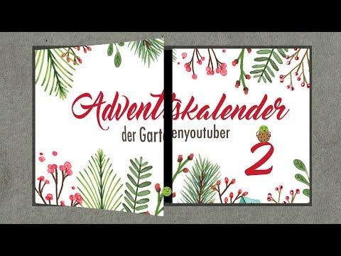 #2   Adventskalender der Garten YouTuber 2017