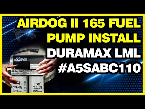 Install an AirDog II 165 Fuel Pump for a Duramax LML