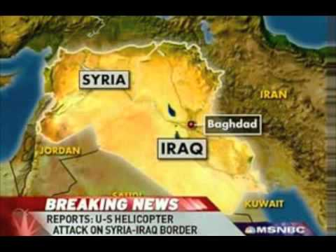 US helicopters attack Syrian farm, leaving 8 dead, 4 children, near Iraqi border