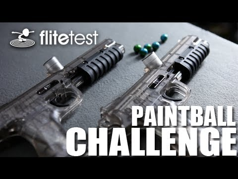 Flite Test - Paintball - CHALLENGE