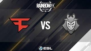 Rainbow Six Pro League Finals - Season 8 - Rio de Janeiro - Faze Clan vs G2 Esports