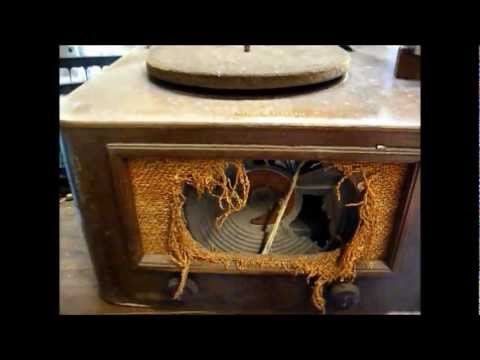 Late '40's GE 78 rpm record player restoration - part one