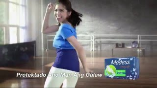 Modess featuring Maine Mendoza TVC #PADtaSTICK