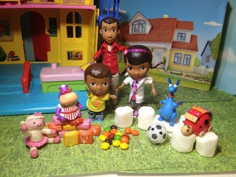 Disney Junior Doc McStuffins The Candy Mystery Doc McStuffins Candy Marshmallow Playset Toy