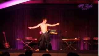 Bastian Flores Ifade Male Bellydance