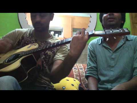 Teri yaad saath hai ( Namastey London ) guitar cover by palash...