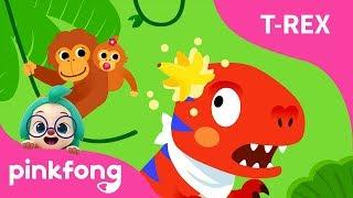 Un T-Rex Fue a la Jungla | Bebé T-Rex | Dinosaurios | Pinkfong Canciones Infantiles