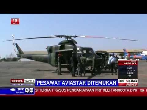 Breaking News: Pesawat Aviastar Ditemukan