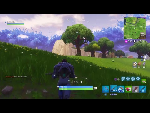 Fortnite Game Play trying to get new gun