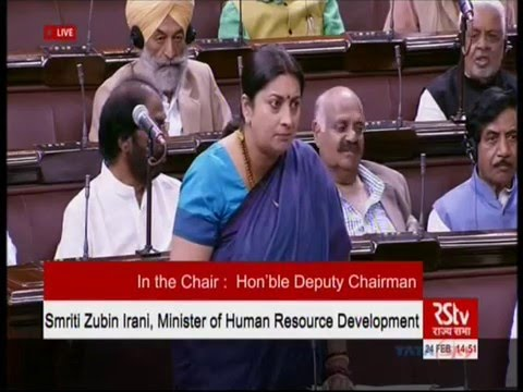 Face off between Mayawati and Smriti Irani in Rajya Sabha