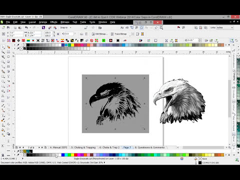 Color Separations in CorelDRAW® for t-shirt & apparel printing