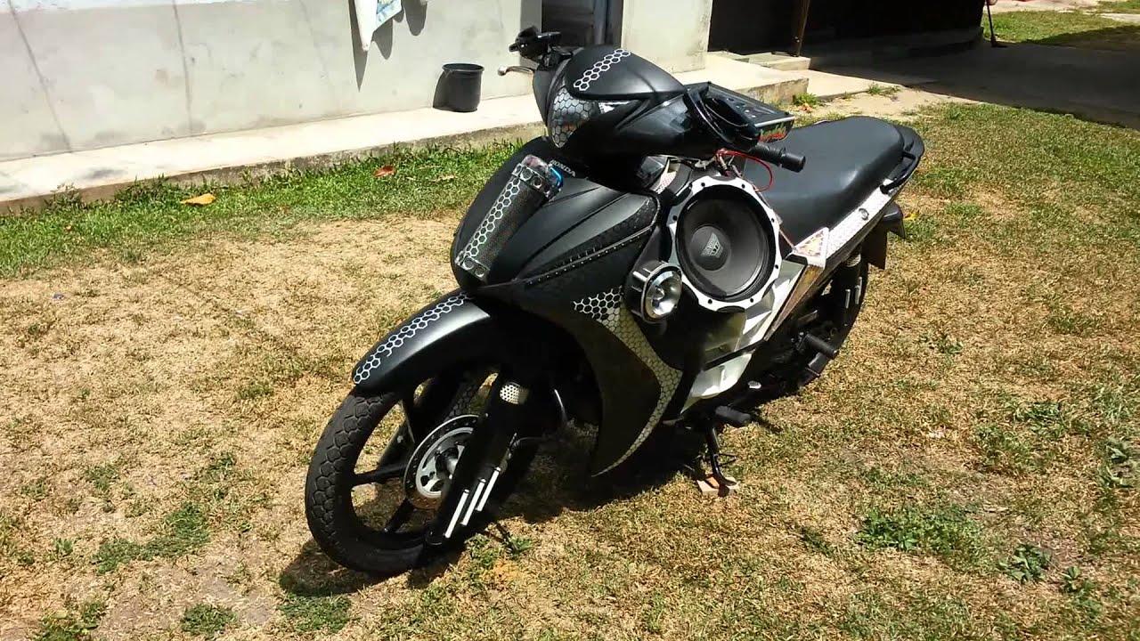 Motos Com Som Automotivo Biz Atrevida Moto Som