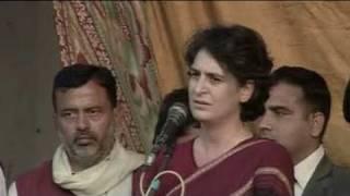 Priyanka Gandhi campaigns in UP